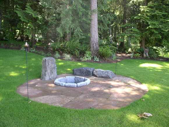 Custom Water Features & Fire Pits | Tukwila WA | Lifestyle Landscapes