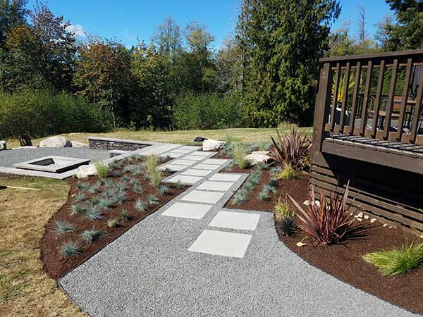 fire pits landscaping in seattle